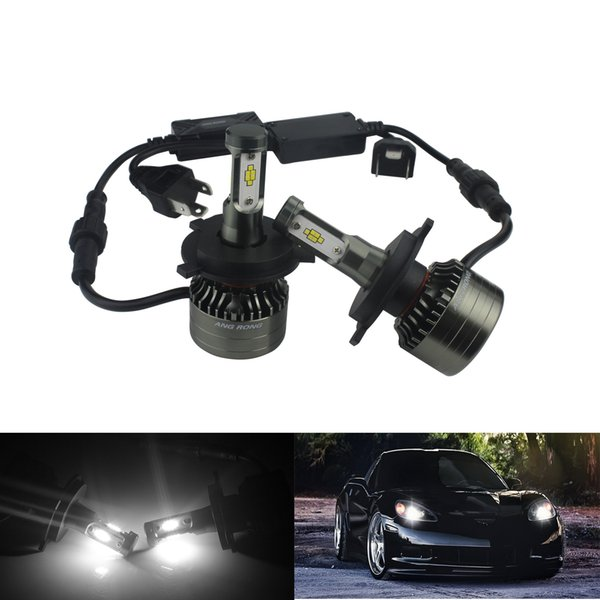 wholesale Kit H4 LED Bulb 120W 15000LM Headlight Fog Driving Light Dual Hi/Lo Beam