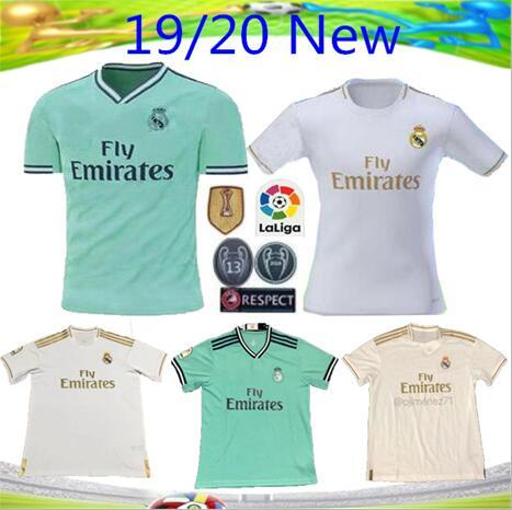newest acf92 675ef New 19 20 Real Madrid home Soccer Jersey shirt 2019 2020 Top quality MODRIC  Football shirt BALE ASENSIO BENZEMA Away Camisa football jerseys