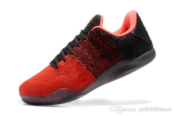 판매 최고 품질 4킬로바이트 XI KB (11) 제직 스포츠 교육 운동화 크기 7-12 2017 고베 (11) 엘리트 남자 농구 신발