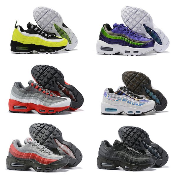 Compre Nike Air Max 95 Bebés, Niños, Marca, Zapatos Para Correr, Clásicos, OG, Aniversario, Niños, Niñas, Calzado Deportivo, Niños Negros, Negros,