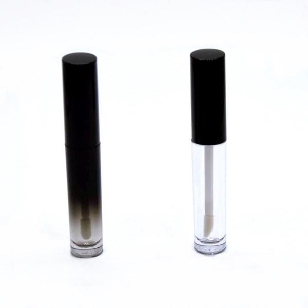 Venta caliente al por mayor 3 ml Vacío gradiente Color de labios bálsamo Tubos Contenedores claro Lip Gloss Tubos Lápiz labial Venta caliente