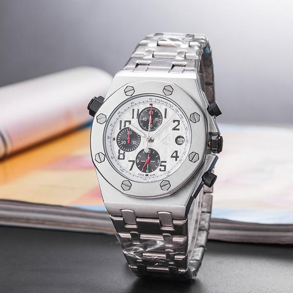 Clássico A marca de relógio P Famoso Luxo Mens Assista designer de moda relógio homem borracha montres pour hommes Masculino relógios de pulso reloj hombre3