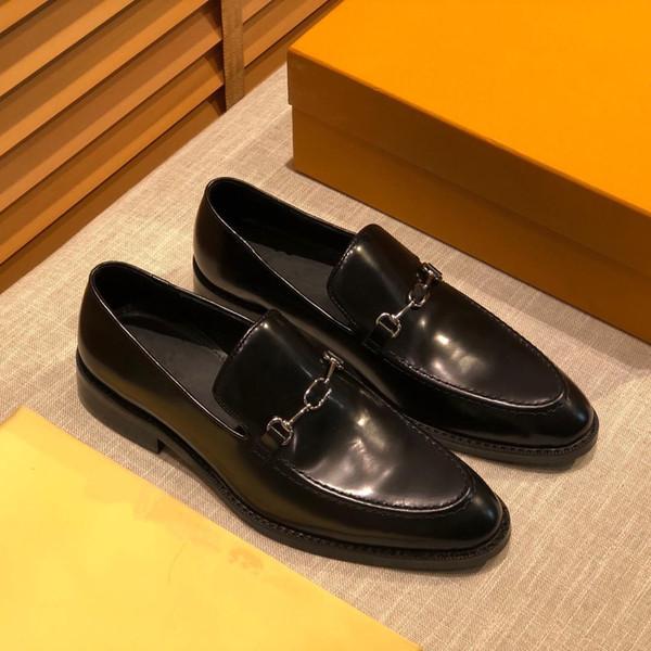 2020SS Hai Schuhe Qualitäts-zapatos dolce Design Markendesign-Mann Schuhe entwerfen die Schuhe Loafer Marken-klassische Marine Plus Size US11 MEEEEE