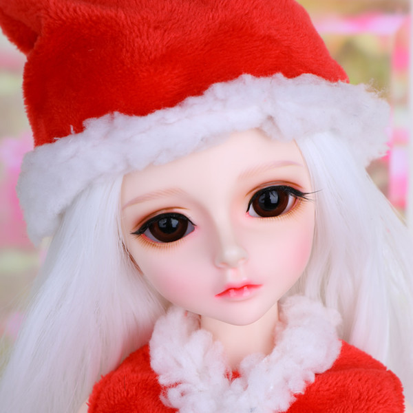 BJD doll SD doll Christmas set 1/4 girl baby clothes can be customized size