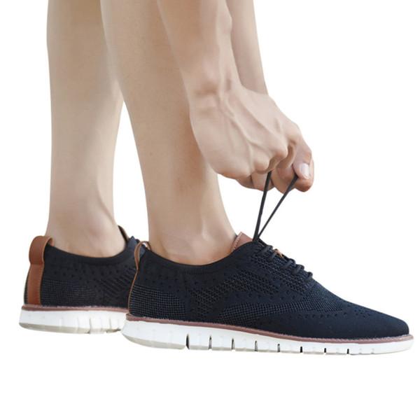 2019 sapatilhas das mulheres dos homens respirável sapatos leves de fundo macio e leve confortável calçados esportivos casuais para senhoras 40J9