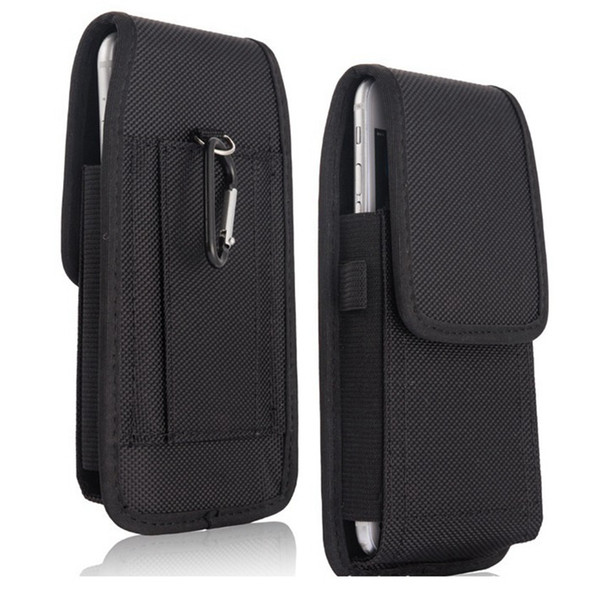 Для Samsung S8 S9 S10 PLUS ПРИМЕЧАНИЕ 9 10 Универсальная кобура зажим для ремня талии Человек Оксфорд чехол для телефона сумка для Iphone XR XS Макс х 8 7 6 PLUS