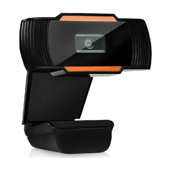USB MIC Câmera HD Webcam 360 ° Clip-on para Skype Computer