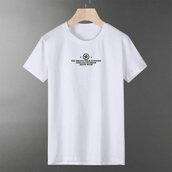 QCC9682 mens designer t shirts t shirt designer shirts available stripe style with letter print big size L-5XL free shipping mens t shirts