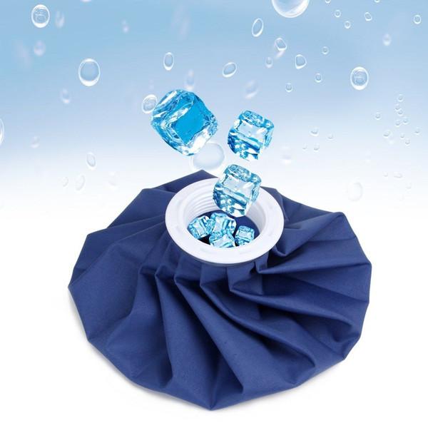 Bolsa de enfriamiento de hielo de 9 pulgadas Azul Reutilizable Rodilla Cabeza Lesión en la pierna Alivio para el dolor Bolsa de hielo Bolsas de cuidado de la salud Bolsa de hielo Cuidado de la salud en el hogar AAA1557