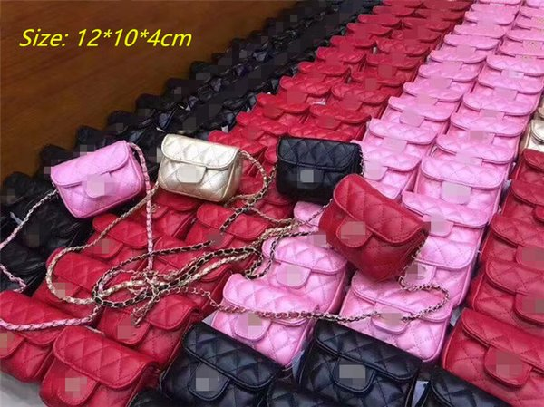 HOT Kids Handbags New Fashion Girls Mini Princess Purses Children Classic Chian Shoulder Bag Children Canies Bags Christmas Gifts