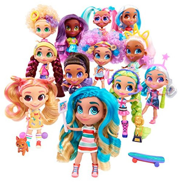 Surprise Dolls Kids Toys Princess Long hair Doll Novelty Gift Box Gadget with colors for Girls Children New Year Present Funny Lil Dolls