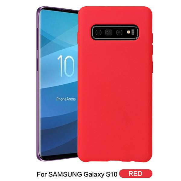 Tiene funda oficial de silicona con logo original para Samsung Galaxy S10 Plus S10E S9 S8 Note9 8 fundas para iPhone X Xs MAX XR con caja al por menor