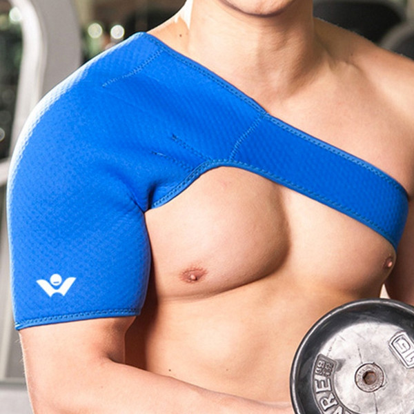 New Sports Satety Magnetic Therapy Posture Orthopedic One Shoulder Back Support Belt Brace Pain Relief Recovery for Men Women #435863