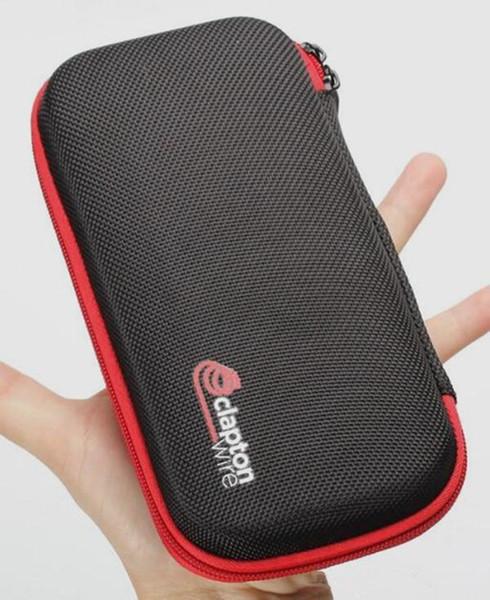 Ecig vape coil father vape zipper case for e cigarette diy tool vapor starter kit Multifunctional Vape Tool Bag Carrying Case custom OEM