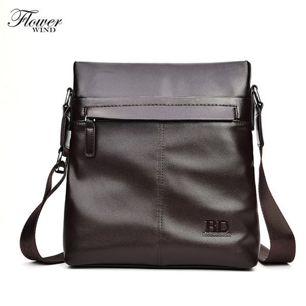 Marke Elegance Business Men Aktentasche, PU Leder IPAD Men Bag, Casual Man Schultertasche Maleta, große Kapazität