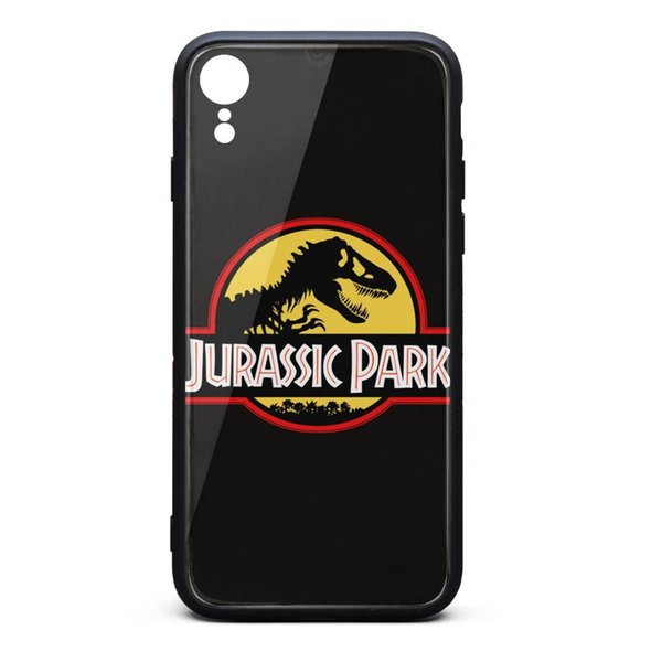 Jurassic Park logo i XR phone best personalised case fancy apple phone cases fit popular skid-proof phone cases