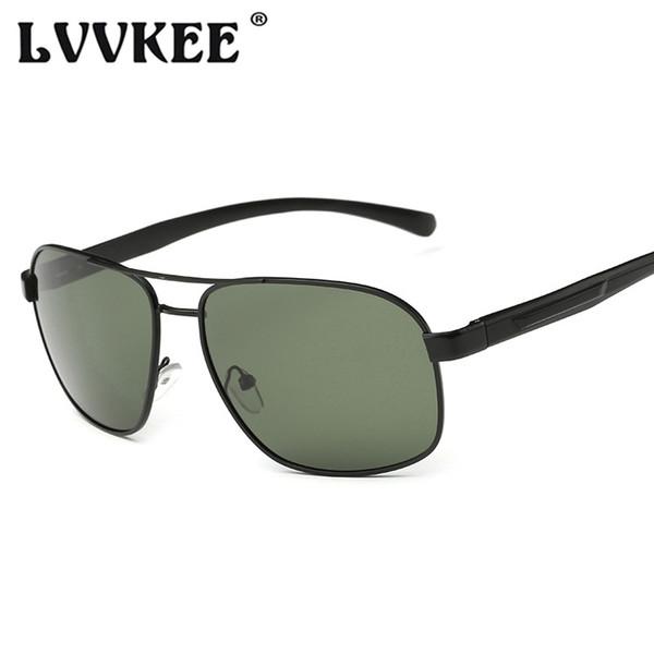 Nouveau rétro HD polarisé lunettes de soleil pour hommes en alliage d'aluminium de mode miroir lunettes de soleil pour conduite masculine lunettes UV400 femme lunettes
