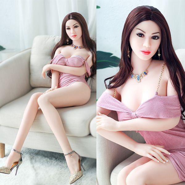 Nueva muñeca de sexo real de silicona muñecas de amor de tamaño natural muñecas sexuales masculinas japonesas de mama suave muñeca de silicona realista juguetes sexuales para hombres