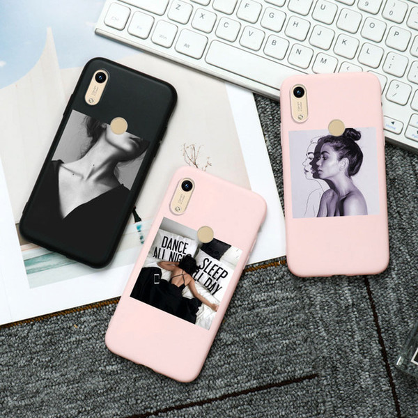 Wholesale huawei honor bumper for sale - Group buy Cellphones Telecommunications D DIY Painted Phone Case For Huawei Honor X Case Silicon Candy Bumper Huawei Honor A S C