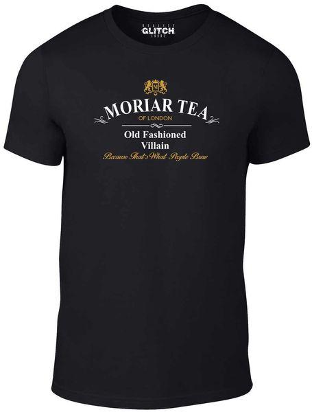 Tea T-shirt - Moriarty Sherlock Holmes Cumberbatch Baker Street New T Shirts Funny Tops Tee New Unisex Funny Tops