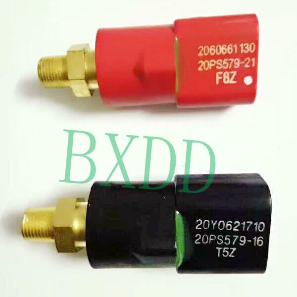Pressostato nero PC450-6 Sensore di pressione dell'escavatore Komat'su 20Y-06-21710