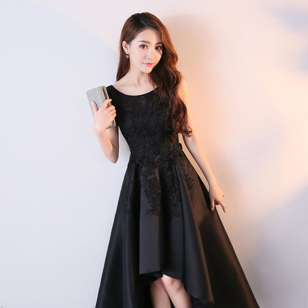 Evening Dress 2019 Appliques Sleeveless Evening Gowns Party Dresses Chinese Women Mesh Cheongsam Qipao size S-XXL