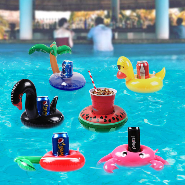 2019 Inflatable Cup Holder Swimming Pool Accessories Flamenco Float Donut  Pool Float Swimming Ring Toys From Zqhero, $50.26 | DHgate.Com