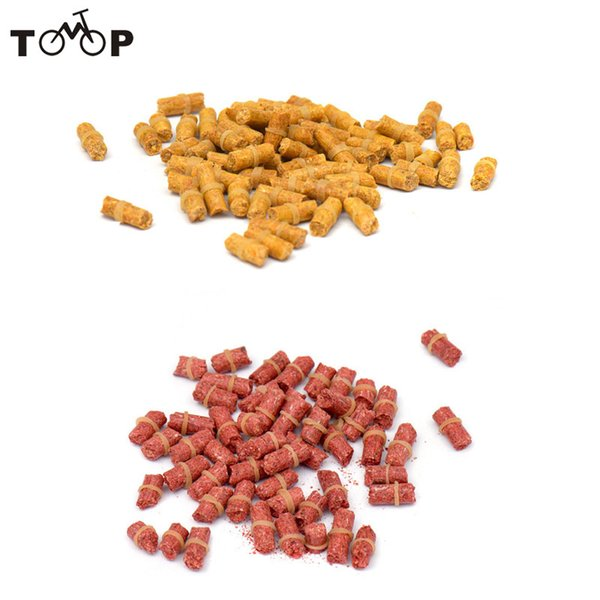 carp tackle for sale 1Pack Artificial Smell Crucian Baits Coarse Baits Carp Lures Pesca Fishing Tackle Yellow/Red