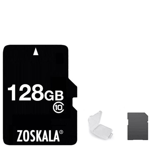 top popular 2020 100% Genuine Zoskala Real Full Class 10 256GB 128GB 64GB 32GB 16GB TF Flash Memory Card + Free SD Adapter 2021