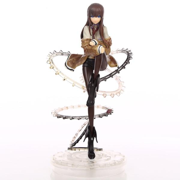 Anime Figure 21 CM Steins Gate Makise Kurisu 1/8 Scale figurine PVC Action Figure Collection Model Toy Christmas Gifts