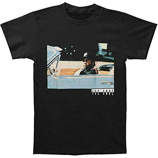 Cubo di ghiaccio da uomo Nuovo Impala Balck Casual divertente Maniche corte in puro cotone Abbigliamento Colletto casual T-shirt design moda uomo