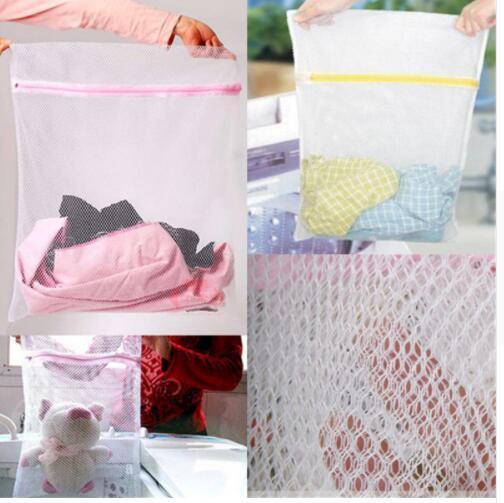 Lingerie Washing Home Use Mesh Clothing Underwear Organizer Washing Bag Mesh Net Bra Wash Bag Zipper Laundry Bag HK0396