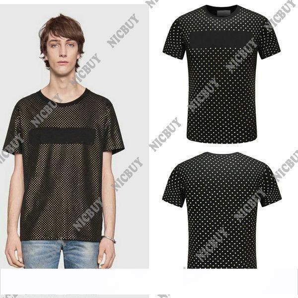 Nueva camiseta de marca de diseñador de moda para hombres de verano, camisa de manga corta, estampado en caliente, estampado de letras, camiseta, camiseta, tops