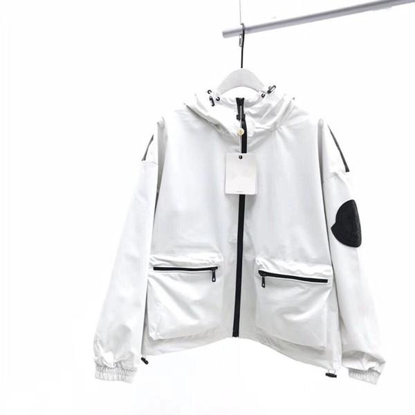19fw diseño de la marca de lujo Sup El Norte de arco chaqueta de lana hombres rompevientos mujeres ocasionales camisas de Calle Sudaderas exterior