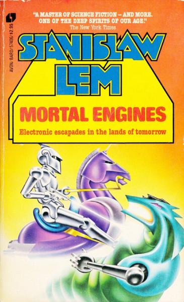 Stanislaw Lem Mortal Engines Sci-Fi Vintage Art Decorative Kraft Poster Canvas Painting Wall Sticker Home Decor Gift