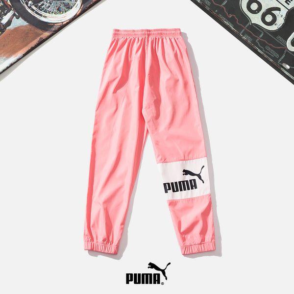 2019 Frauen Mens Luxurys Jogger Hosen New Branded Drawstring Sporthosen High Fashion 2 Farben Side Stripe Designers Joggers # 5897