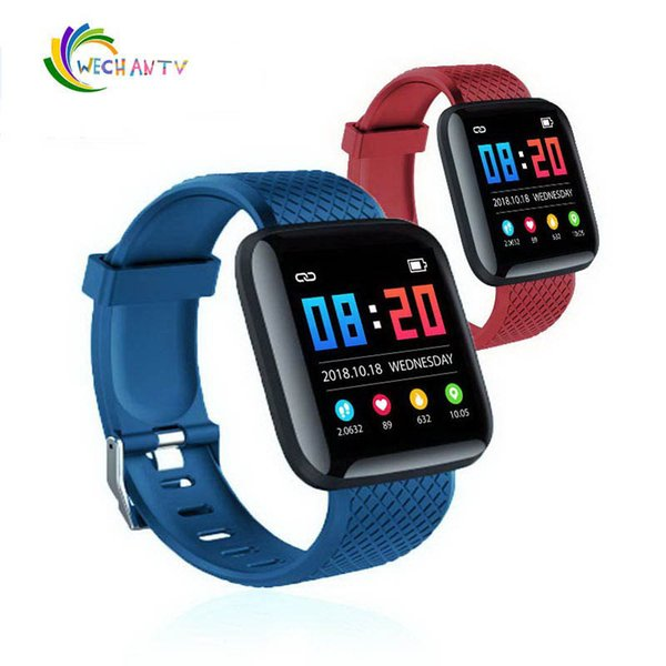 116 Plus Smart watch Bracciali Fitness Tracker Monitor della frequenza cardiaca Fascia da polso Braccialetto PK 115 PLUS per iPhone Samsung s9 note 4 Android