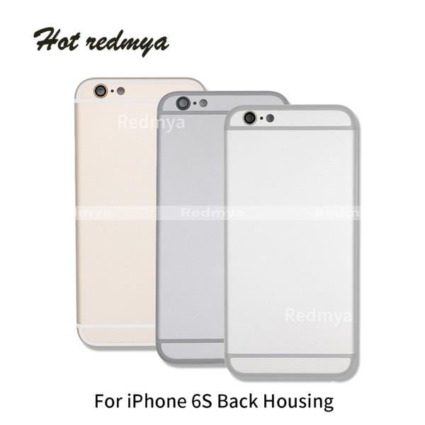 Carcaça de metal com botões laterais para iphone 6 s 4.7