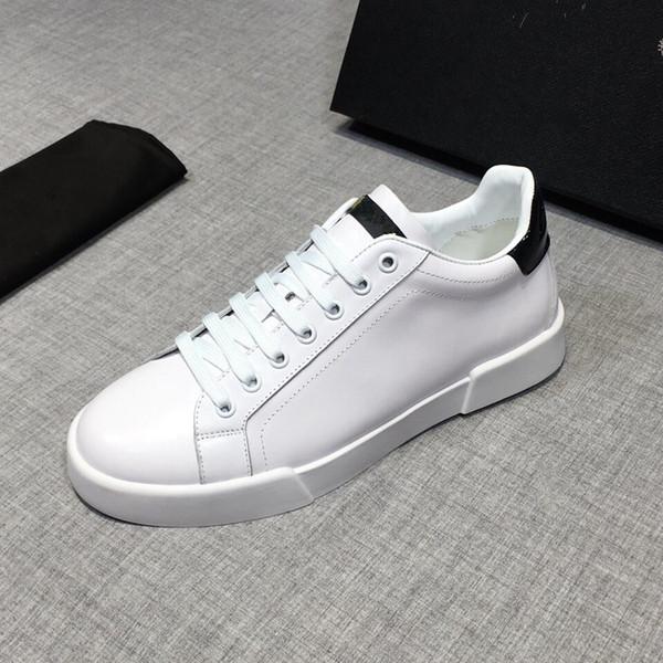 2019 Designer De Plataforma De Luxo Clássico Sapatos Casuais Sapatos De Couro Casual Vestido De Lona Mens Das Mulheres Tênis Esportivos RD19021707