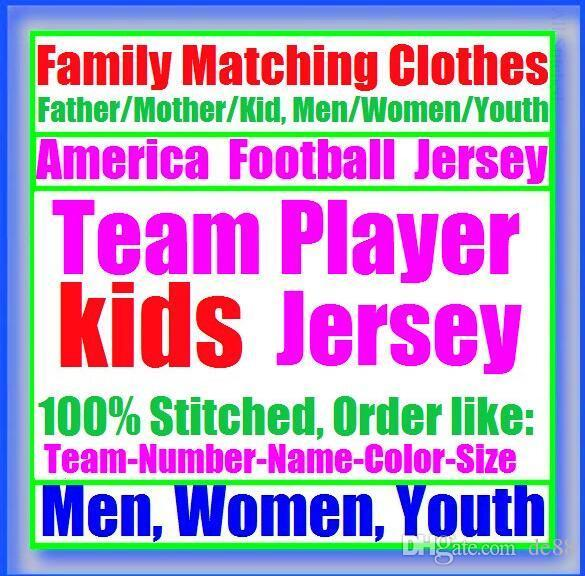 All Stitched Custom american football jerseys Houston New York college authentic cheap baseball basketball mens womens youth USA 4xl women