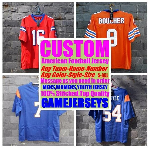 best selling Personalized american Football Jerseys college cheap authentic best seller sports Jersey stitched men women youth kids 4xl 5xl 6xl 7xl 8xl