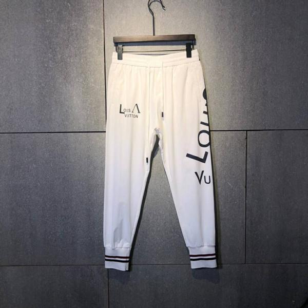 2019 pantalones para hombre con escala de pez, pantalones de chándal para correr, pantalones de chándal tamaño chino ~ chándal de yoga de lujo, pantalones de sudor para hombres ZDL 19979