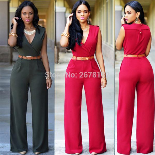 jumpsuits for women 2018 plus size New V Cut Rompers Women Jumpsuit Summer Bodycon Jumpsuit Playsuits Women Clothing Neon