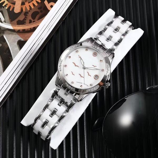Luxury watches Women Watch M Diamonds Dial Band Roman numerals Quartz Watches For Womens Ladies Designer Watches free shipping