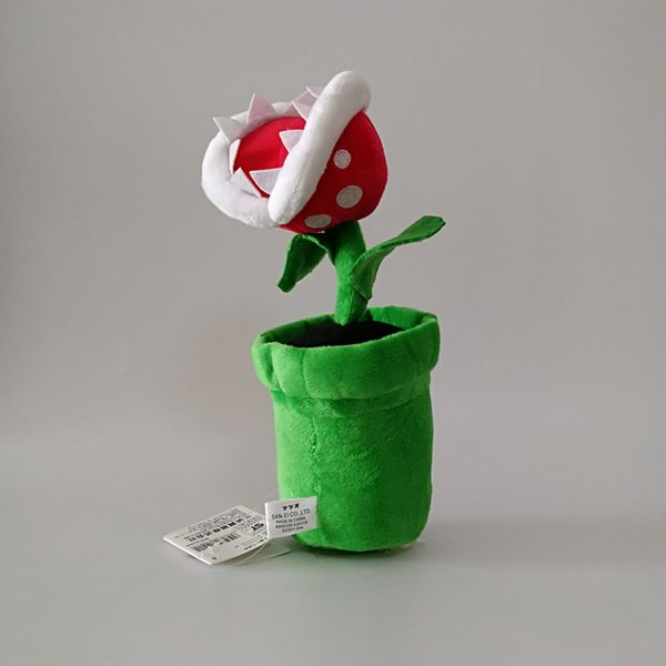 "New Piranha Plant Super Mario Bros Plush Dolls Stuffed Animals Toys For Child Best Gift (3pcs/Lot / Size: 9"" 23cm )"