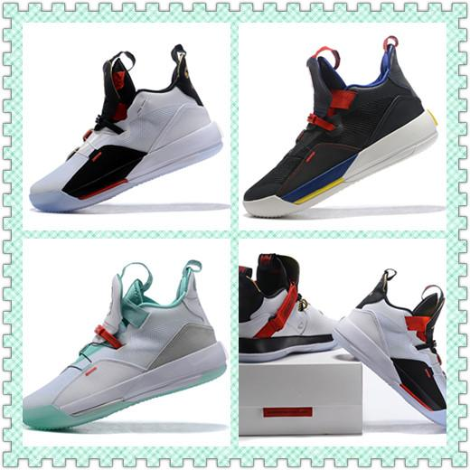 33 for All-Star Weekend women shoes designer shoes 33 Utility Blackout Chicago TECH PACK 33s PE luxury casual women men shoes SIZE 36~46