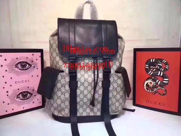 2019 bolsos de marca de moda En relieve impermeable de cuero genuino mochila bolsos monederos mujer bolso de escuela causal Bolsos de alta calidad CDE-11