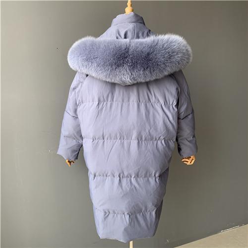 Blue fox fur match
