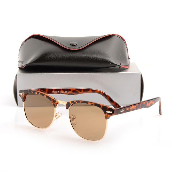 Yeni marka tasarımcı güneş gözlüğü yüksek kaliteli metal menteşe güneş gözlüğü erkek gözlük kulübü womens güneş gözlükleri uv400 lens un ...