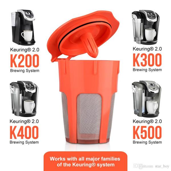 Кофе в капсулах для Keurig 2.0 k-carafe Многоразовые кофейные капсулы Фильтр K чашка Замена корзины Многоразовая кофеварка Фильтр Dripper